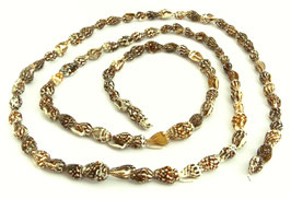 Netzreusenschnecke Gehäuse Perlen ~7-10 mm - XL-Strang