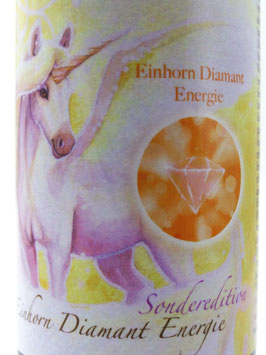 Einhornessenz Sonderedition ~ Diamantenergie ~ Einhorn Auraspray Duftspray