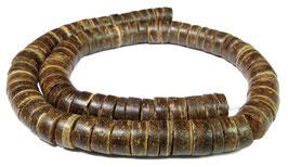 Kokosnuss Rondelle ca. 7 mm - XL-Strang