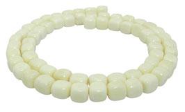 Knochen-Perlen Würfel ca. 7x6,5 mm - Strang