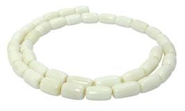 Knochen-Perlen Walzen ca. 10x6 mm - Strang