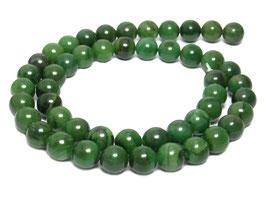 Verdit (Afrikanische grüne Jade) Kugeln 8 mm - Strang