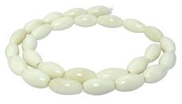 Knochen-Perlen Oliven ca. 14x8 mm - Strang