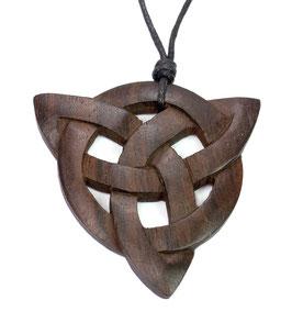 Großer Taliesin Anhänger / Amulett - keltischer Anhänger aus Holz