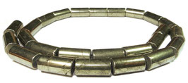 Pyrit Walzen ca. 16 x 8 mm – Strang