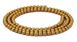 Hämatit Kugeln matt bronzefarben 3 mm - Strang