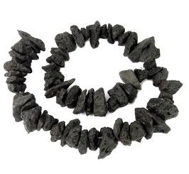Lava große Splitter Nuggets ~ 12-20 mm - Strang