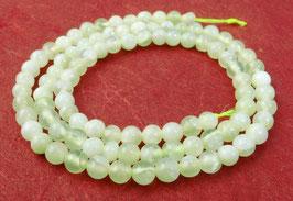 China Jade (Serpentin) Kugeln 4 mm - Strang