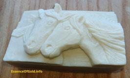 Ziegenmilch - Seife, Pferdemuster