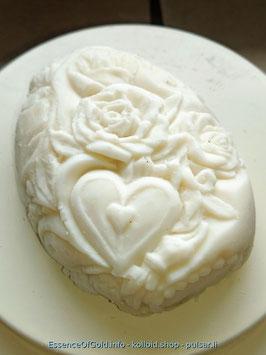 Ziegenmilch Seife, Blume Mit Herz