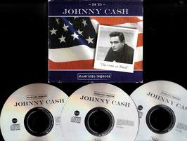 Johnny Cash - The Man in Black -3CD-Box- American Legends