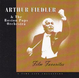 Arthur Fiedler & The Boston Pops Orchestra - Film Favorites -CD- Time Life Filmmusik