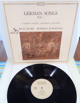 Jacobs Junghänel - German Songs Vol. 1 -Vinyl-LP- Accent ACC 8015