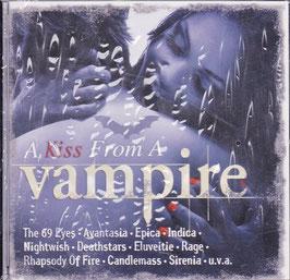 V. A. - A Kiss From A Vampire -CD- NEU/ OVP The 69 Eyes, Nightwish, Rage