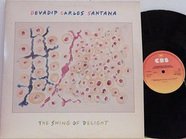 Devadip Carlos Santana - The Swing Of Delight -Vinyl-Doppel-LP- CBS 22075 Holland