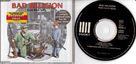 Bad Religion - Punk Rock Song -MaxiCD-