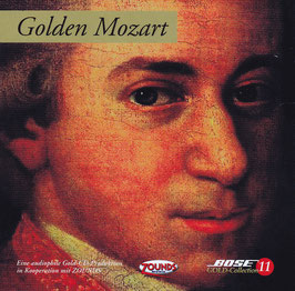 Golden Mozart Bose Gold-Collection 11 -24 Karat Echtgold CD- Audiophile