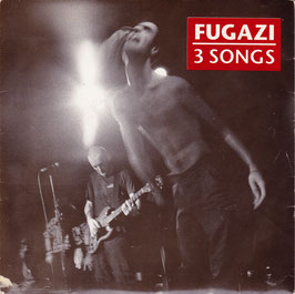 "Fugazi - 3 Songs -7""Single- Hardcore"