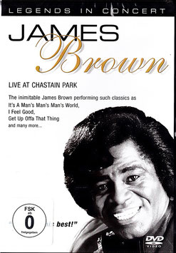 James Brown - Live At Chastain Park -DVD- NEU/ OVP