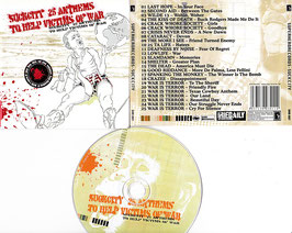 V. A. - Suck City 25 Anthems To Help Victims Of War -CD- Superhero Records SHR 007