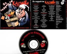 Es rappelt im Kartoon -CD- 20 Jahre Kartoon Kabarett Die besten Lieder & Szenen