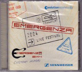 V. A. - Emergenza 2K4 Custom Made -CD- NEU/ OVP Frankfurt 2004