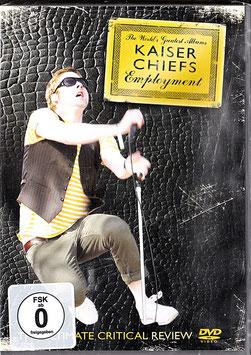 Kaiser Chiefs - Employment / The Ultimate Critical Review -DVD- NEU/ OVP