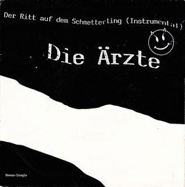 """Die Ärzte - Der Ritt auf dem Schmetterling -7""""Vinyl-Single- CBS 653093 7"""