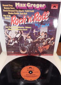 Max Greger - Rock ´n´ Roll mit Max -Vinyl-LP-