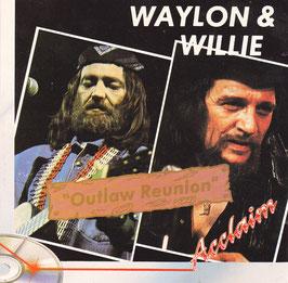 Waylon & Willie - Outlaw Reunion -CD- Waylon Jennings Willie Nelson