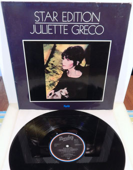 Juliette Greco - Star Edition -Vinyl-Doppel-LP- Barclay 0086.021