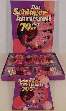 V. A. - Das Schlagerkarussell der 70er -5 MC/ Kassetten-Box- Reader´s Digest