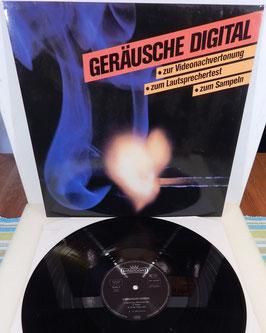 Geräusche Digital -Vinyl-LP- Videonachvertonung Lautsprechertest Sampeln
