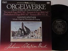 Bach - Orgelwerke -Vinyl-LP- Kästner Edition Bach Leipzig DMM Capriccio 26 302-0