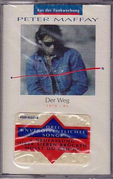 Peter Maffay - Der Weg 1979 - 93 Kassette/ Tape NEU/ OVP 4509-92222-4 CA-491