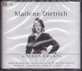 Marlene Dietrich - Golden Greats -3CD-Box- NEU/ OVP