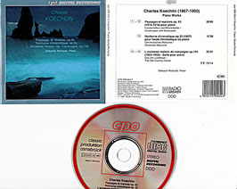 Koechlin, Charles - Piano Works -CD- Deborah Richards cpo 999 054-2