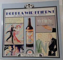 V. A. - Hoppla Wir Feiern 60 Jahre Malteserkreuz Aquavit -Vinyl-LP-