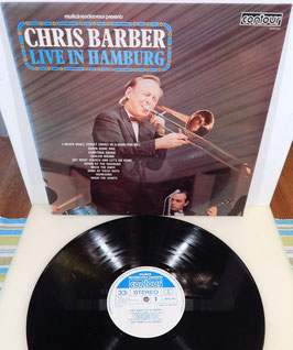 Chris Barber - Live In Hamburg -Vinyl-LP- contour UK Press mit Autogramm