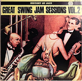V. A. - Great Swing Jam Sessions Vol. 2 -Vinyl-LP- History Of Jazz Joker SM 3115