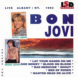 Bon Jovi - Live Albany/ N.Y. 1993 Vol. 2 -CD-