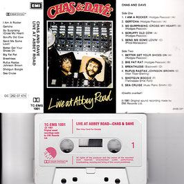 Chas & Dave - Live At Abbey Road -Kassette/ Tape- TC-EMS 1001