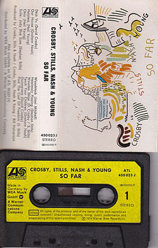 Crosby, Stills, Nash & Young - So Far Kassette/ Tape ATL 450 023 J