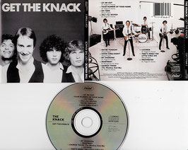 The Knack - Get The Knack -CD- US Press CDP 7 91848 2