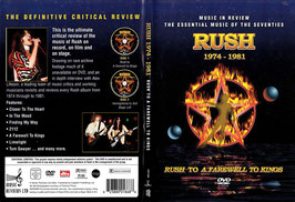 Rush - 1974-1981 -DVD- NEU/ Ungespielt DVD 1: Rush To A Farewell To Kings