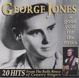 George Jones - A Good Year For The Roses -CD-