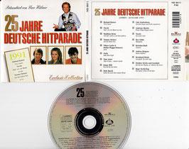 V. A. - 25 Jahre Deutsche Hitparade 1991 -CD- präsentiert von Uwe Hübner