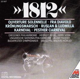1812 - Overture Solennelle Fra Diavolo Krönungsmarsch -CD- Kegel Vonk
