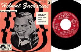 """Helmut Zacharias Et Ses Violons Enchantés -7""""Single- EP France Polydor 20.130"""