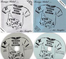 V. A. - Teenage Rebel ... der Sampler Vol.1 und Vol.2 -2CD´s- Teenage Rebel Records